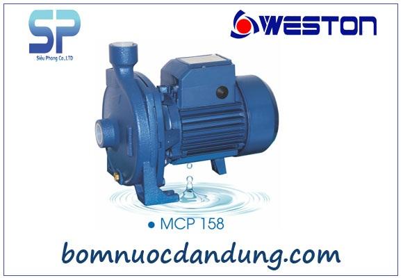 Máy bơm nước ly tâm Weston MCP-158