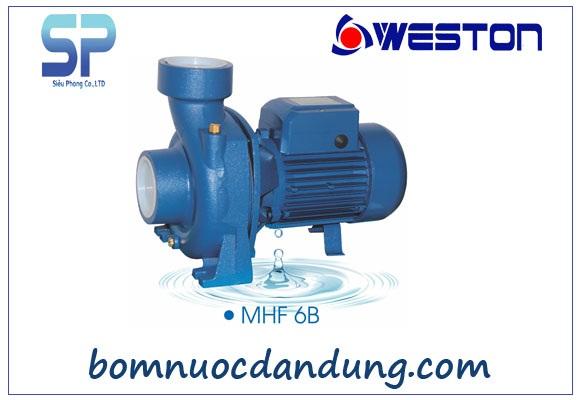 Máy bơm nước ly tâm Weston MHF/6B