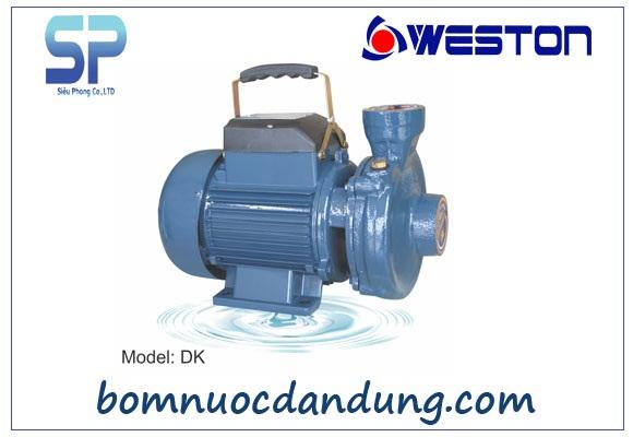 Máy bơm nước ly tâm lưu lượng lớn Weston 1.5DK–22