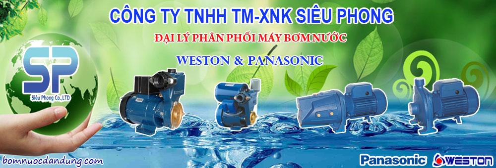 Máy Bơm Panasonic & Franklin