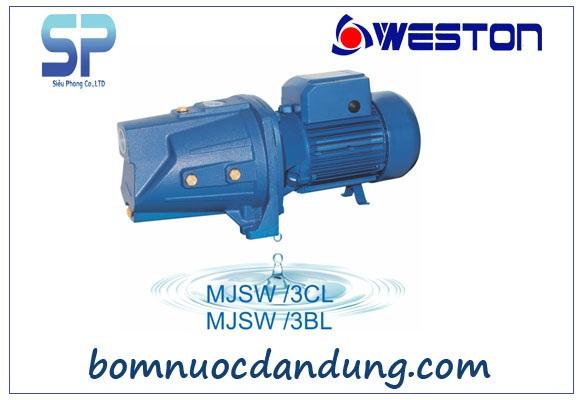 Máy bơm tự mồi Weston đầu Jet MJSW/3CL